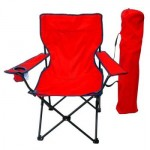 quad chair red