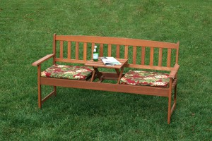 Wooden Garden Bench/ Item#:WB-COVE
