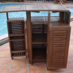 Wooden Patio Bar- Style2
