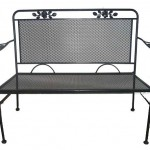 Wrought Iron Bench/Item#:BC-HUDSON