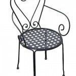Wrough Iron Chair/BC-QUEEN