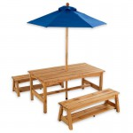 Wooden Picnic Furniture Set for kids