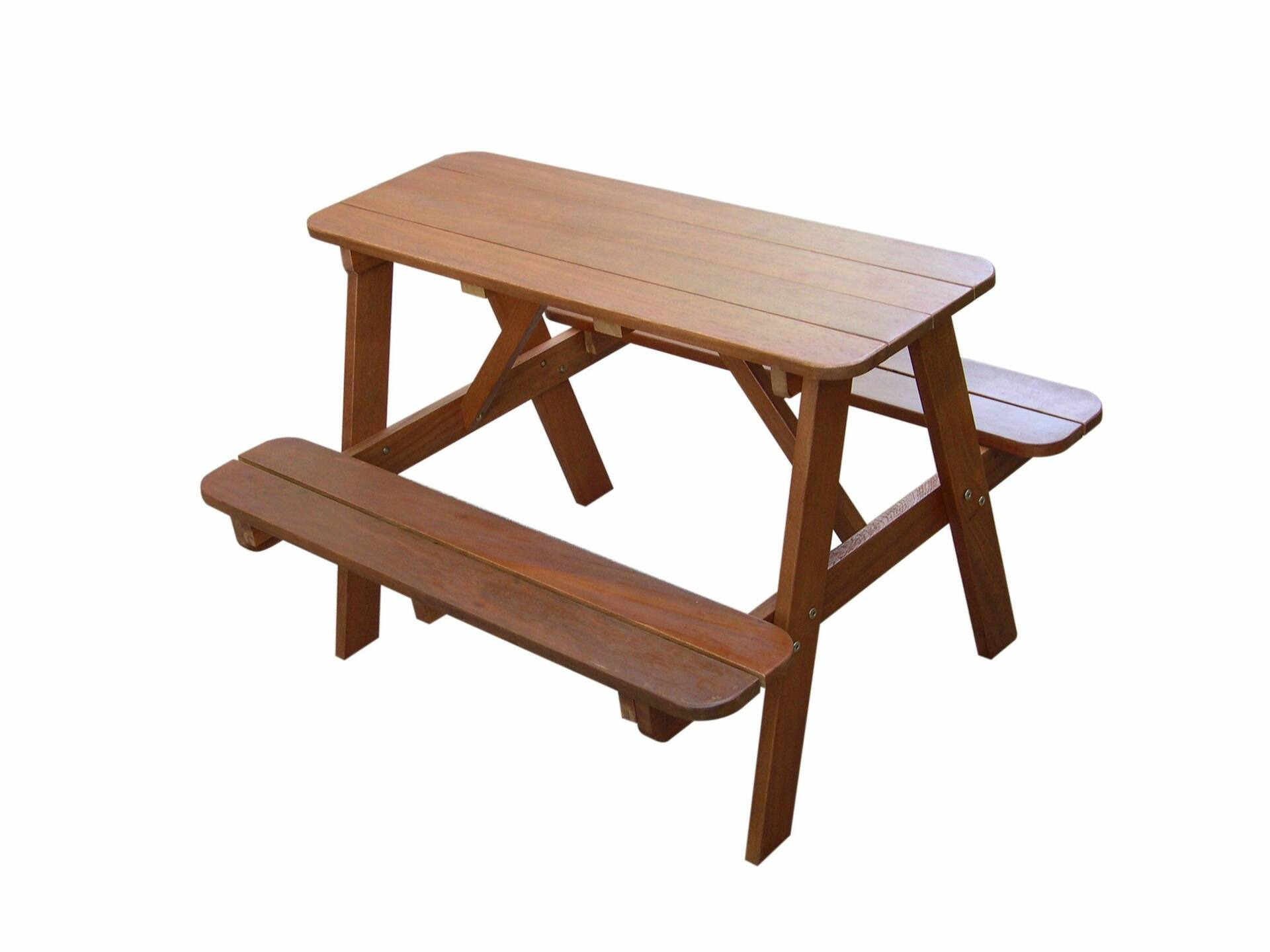 wood spin itm desk sturdy study pine s picnic prod durable new outdoor bench table kids children indoor