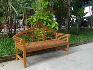 Garden Wood Bench/Item#:WB-CAMB