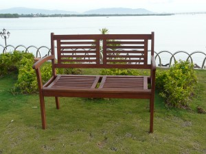 Garden Wood Bench/Item#:WB-SEDALIA