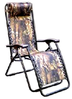 Camo Zero Gravity Chair/ Item#: ZG CAMO2
