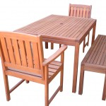 Wood Patio Furniture Set/M-SETTAT