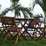 Wood Patio Furniture set/#M-KENITRA