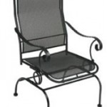 Wrought Iron rocker simple