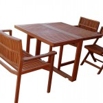 Wood Patio Furniture set/#M-SETTAT