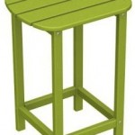 wood adirondack table lime