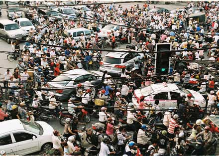 traffic in VN