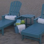 adirondack double chaise lounge w side table aruba
