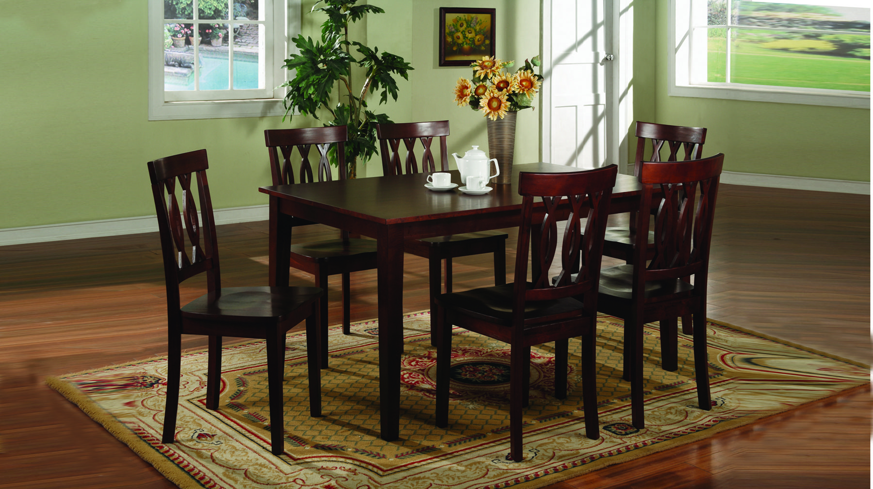 Dining Set By Collections ~ Preston dining collection bigfootglobal