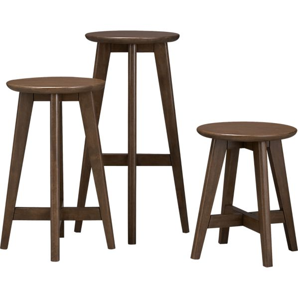 walnut-barstools