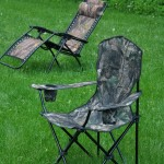 Camo Camp Chairs