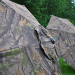 Camo umbrella fabric